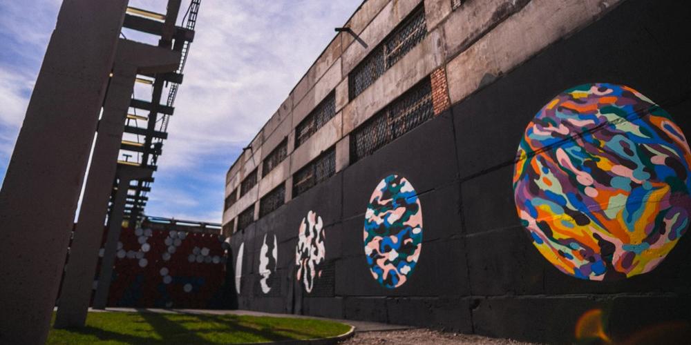 Высвка в музее стрит-арта Сквозь ограничения