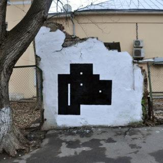 Стрит-арт художник Дима Gred