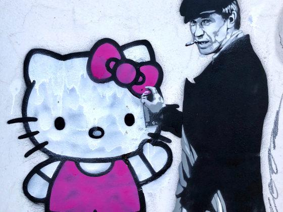 Уличный художник Zoom