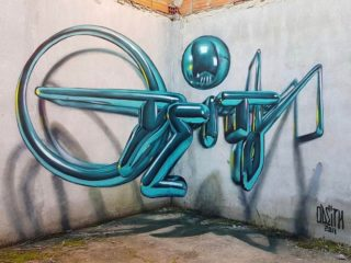 Граффити в 3Д стиле