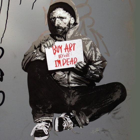 Как сделать трафарет на бумаге для граффити своими руками